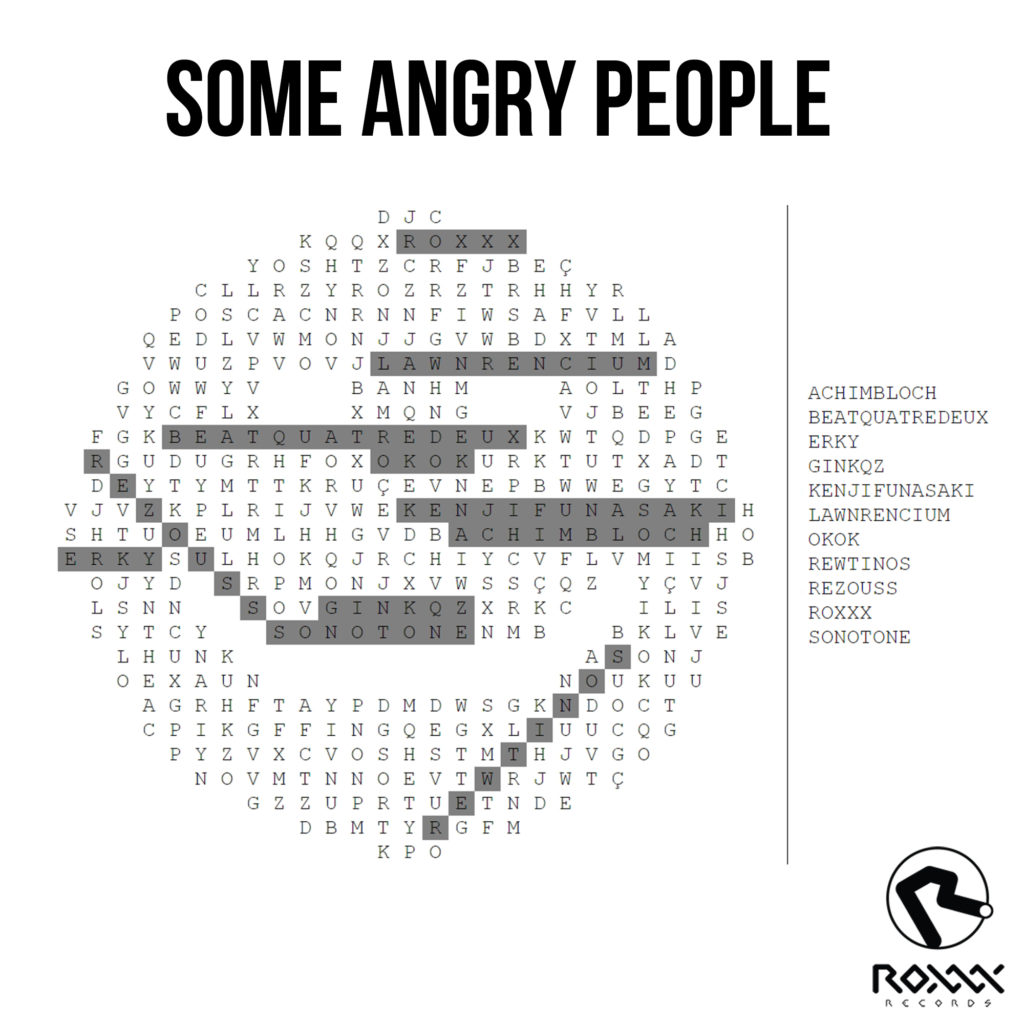 Some Angry People (Various Artists) | Roxxx Records